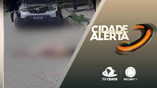 Polícia investiga crime que vitimou mulher