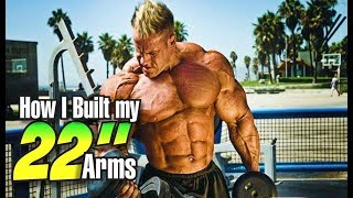 JAY CUTLER-HOW I BUILT MY 22 IN ARMS