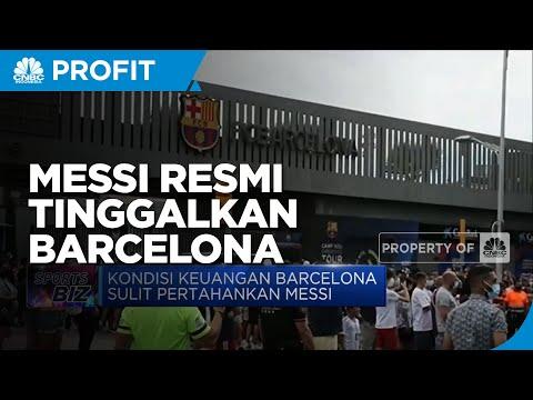 Lionel Messi Resmi Tinggalkan Barcelona