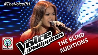 "The Voice of the Philippines Blind Audition ""When I Was Your Man"" by Monique Lualhati (Season 2)"