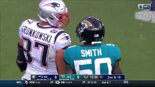 Rob Gronkowski vs Jaguars (2018 wk 2)