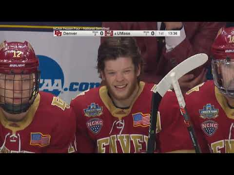 Denver vs UMass Hockey 2019 Men's Frozen Four Semifinal