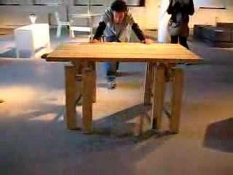 Mühendislik harikası masa