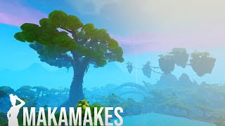 Creating the BIGGEST tree from Avatar in Fortnite Creative