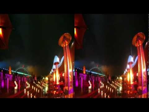 Vivid Sydney in 3D, 2012 - HiDef 3D Timelapse Movie