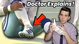 Dak Prescott SEVERE Ankle Injury - Doctor Explains NFL Injury