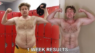 HOW I TRANSFORMED THIS 45 YEAR OLD MANS BODY IN 1 WEEK..
