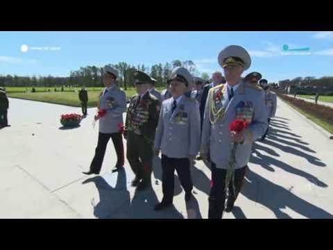 Руководство прокуратуры области приняло участие в официальной церемонии возложения венков и цветов в честь 73-й годовщины Великой Победы