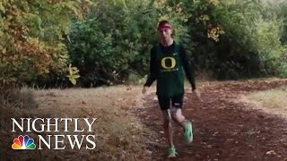 College Athlete With Cerebral Palsy Surprised With Nike Contract | NBC Nightly News
