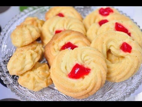 How To Make Kanom Kleeb Lum Duen ( Thai Shortbread Cookies ...