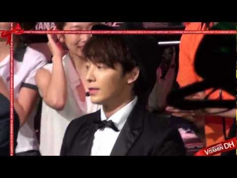 2012.10.15 Donghae Happy Birthday [VitaminDH]