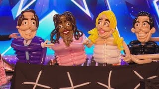 Betty Balloon: Blows Up The Judges On BGT Stage | Auditions 3 | Britain's Got More Talent 2017