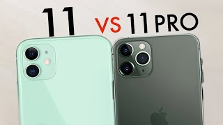 iPhone 11 Vs iPhone 11 Pro! (Quick Comparison)