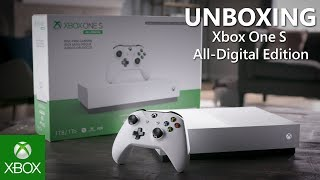 Unboxing the Xbox One S All-Digital Edition Bundle (1TB)