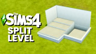 The Sims 4 How to Create Split Levels using Platforms