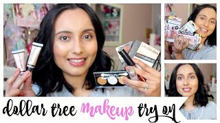DOLLAR TREE MAKEUP TRY ON! YOU NEED TO TRY THIS!!!
