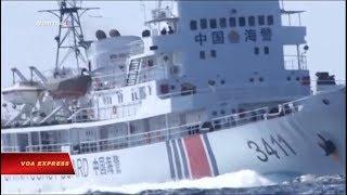 Truyền hình VOA 13/7/19: Tin nói tàu cảnh sát biển Việt-Trung đối đầu trên Biển Đông
