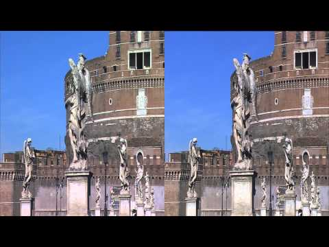 Panasonic 3D Demo - Rome, The Eternal City