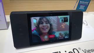 Google Smart Display - LG WK9 - CES 2018 demo