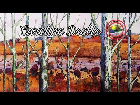 How to paint Watercolour with Caroline Deeble on Colour In Your Life