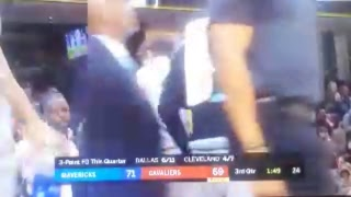 Nba Basketball  Cavs Vs Mavericks