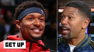 The Wizards made an amazing move by giving Bradley Beal a max contract - Jalen Rose   Get Up