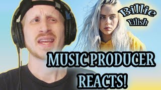 Music Producer Reacts to Billie Eilish - You Should See Me In a Crown (First Time Listening!!!)