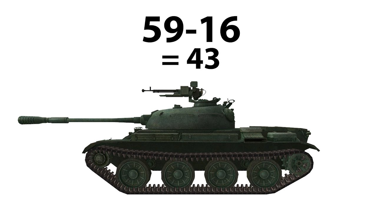 59-16 = 43