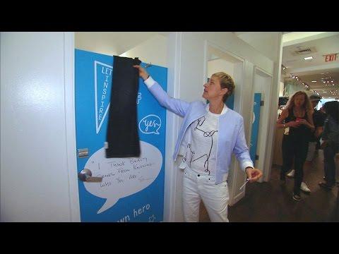 Ellen Takes Over Gap