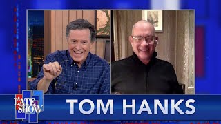 "Tom Hanks Takes ""The Colbert Questionert"""