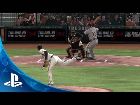MLB® 14 The Show™ | PS4™ Trailer