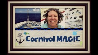 BURGERS, TACOS & SHOPPING ON THE CARNIVAL MAGIC CRUISE SHIP [VLOG ep8] DAY 3/4