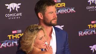 Thor Ragnarok World Premiere Red Carpet - Chris Hemsworth, Tom Hiddleston, Cate Blanchett