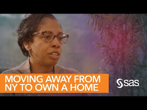 Sheri Grice, a Project Manager at SAS, grew up with ambitious goals to create a great life for a family of her own one day. But between the expensive median price of a New York home and the racial wealth gap, the New York native did not think owning a home in her home state was attainable.