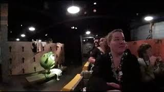 Monsters Inc Mike & Sulley To The Rescue Disneyland 2017 360 Video