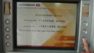 Hướng dẫn sử dụng thẻ ATM