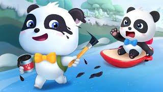 Gấu trúc Kiki panda và những người bạn | Siêu nhân Panda | Phim hoạt hình thiếu nhi hay BabyBus