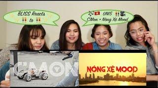 BL1SS Reacts: UNI5 - C'MON + Nóng Xệ Mood