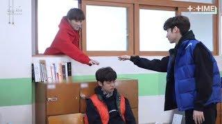 [ENG SUB] [T:TIME] Cute trick on sleeping boy - TXT Yeonjun, HueningKai & Beomgyu