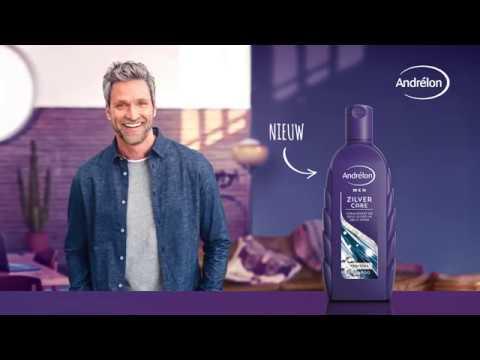 ANDRELON Nieuw: zilvershampoo voor mannen