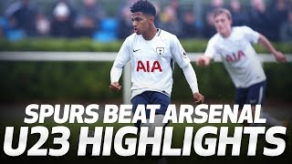 HIGHLIGHTS | SPURS U23s 3-2 ARSENAL U23s