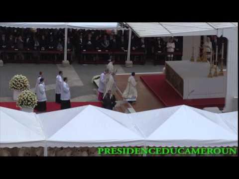LE CHEF DE L'ETAT A ASSISTE A LA CANONISATION DES PAPES JEAN PAULII ET JEAN XXIII