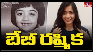 Tollywood beauty Rashmik Madanna childhood pic goes viral..
