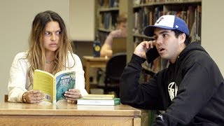 EXTREMELY Embarrassing Phone Calls In Public! (WARNING NO SNOWFLAKES)