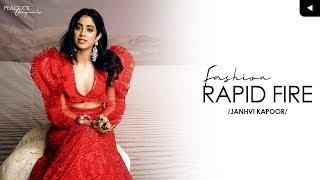 Fashion Rapid Fire Challenge With Peacock Magazine: Janhvi..