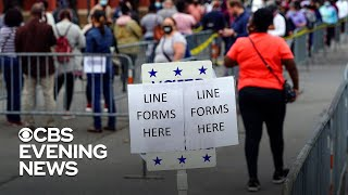Nearly 70 million votes cast, marking record early turnout