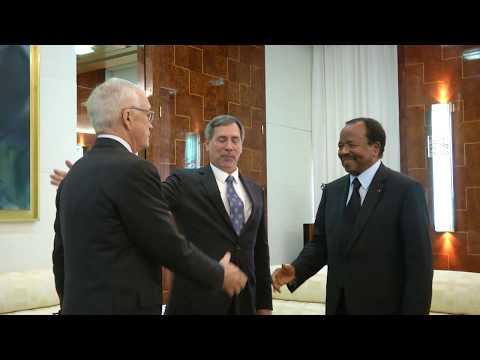 Audience accordée par S.E. Paul BIYA à M. Jay Ireland, Président Afrique de General Electric