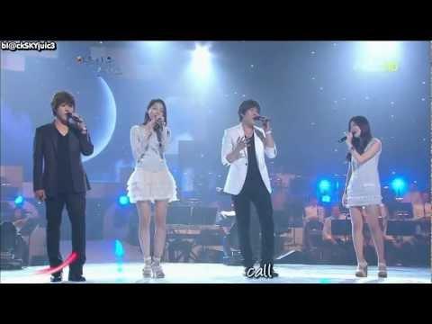 Davichi & December - Whenever You Call LIVE [lyrics+kara]