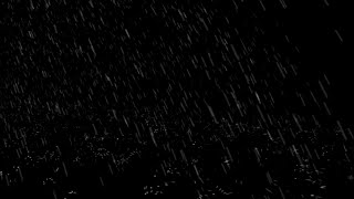 ⛈️ Heavy Rain and Thunder Sounds for Sleeping Dark Screen Thunder Sounds for Sleeping
