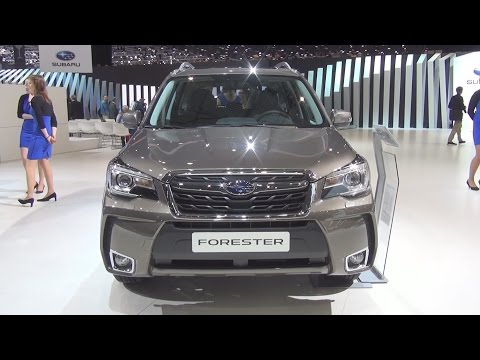 Subaru Forester 2.0 XT AWD Luxury (2016) Exterior and Interior in 3D